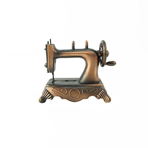 1:6 Scale Model Hand Sewing Machine Dollhouse Miniature Metal Pencil Sharpener