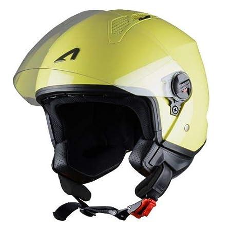 Casque jet urbain Casque jet Astone Helmets Coque en polycarbonate Black Matt M Casque moto et scooter compact MINIJET monocolor