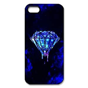 iphone 5 Case/iphone 5s Covers Hard Back Protective-Unique Design Cute Diamond Quotes Case Perfect as Christmas