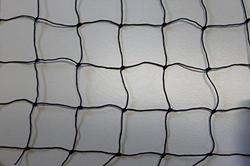 Pieloba Taubenschutznetz Taubenabwehrnetz Taubennetz Vogelabwehr – schwarz – Masche 5 cm – Stärke: 1,2 mm – Breite: 8,00…