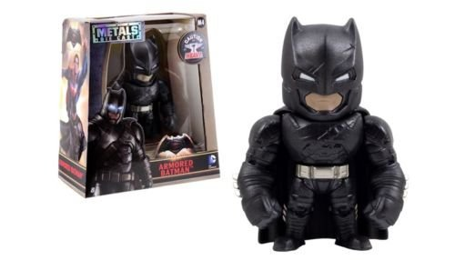 "JADA 4"" METALS - BATMAN V SUPERMAN ARMORED BATMAN MOVIE VERSION Action Figures - 97670"