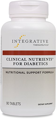 Integrative Therapeutics - Clinical Nutrients For Diabetics - Nutritional Support Formula - 90 Tablets