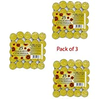 PRICES CITRONELLA TEALIGHTS PACK OF 25 [3]