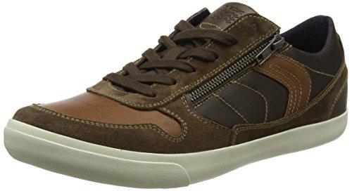 Geox Herren U Box C Sneaker Braun (ebano / Cioccolato)