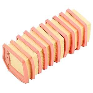 TOPINCN Filtro de Aire Limpiador Mercado de Accesorios Fácil instalación para Stihl FS410 FS460 FS240 FS260 FS360 Trimmer 10 Piezas