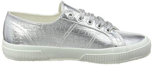 Superga Silver Zapatillas Plateado S031 2750 Cotmetembos para Mujer UYgUw