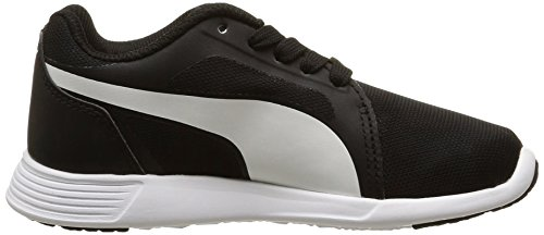 Puma St Trainer Evo, Baskets Basses Garçon Noir (Black/White)