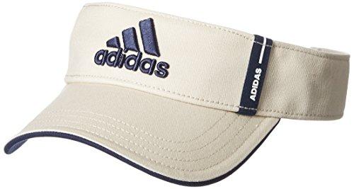 壮大吸収する面白い(アディダスゴルフ) adidas Golf コットンツイルバイザー