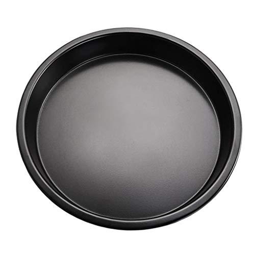 Prettyia Premium Non-Stick Bakeware Pizza Pan, 6-10 inch, Carbon Steel - 7 inch ()