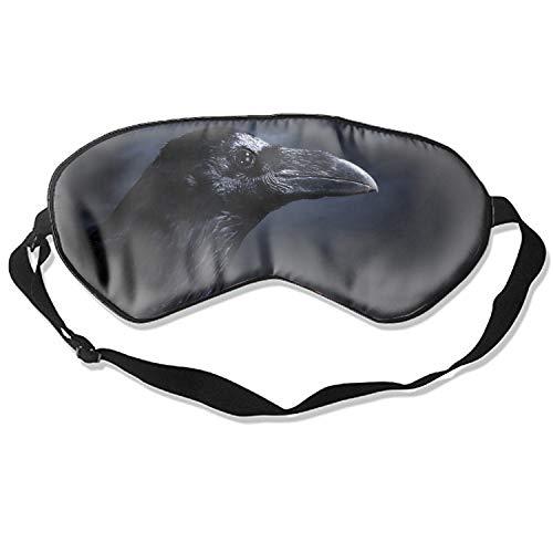 Profile Lite Mask - Sleep Mask Raven Bird Beak Black Profile Eye Cover, Soft & Comfortable Blindfold for Total Blackout & Light Blocking, Multicolor