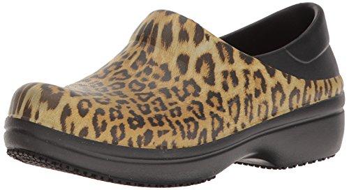 crocs Womens Neria Pro Graphic Clog W Mule, Black, 11 M US