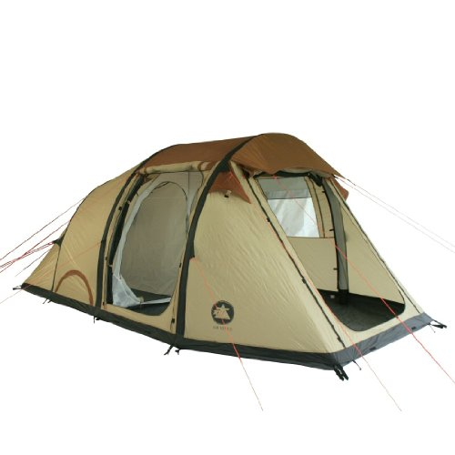 10T Air Venus - inflatable 4-person airtube tunnel tent, WS=5000 mm, sewn in ground sheet