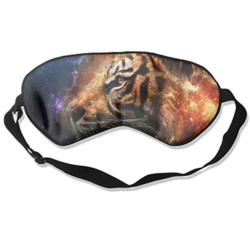 Galaxy Starry Tiger,Eyeshade Sleep Mask,Eye Mask Adult Children Unisex