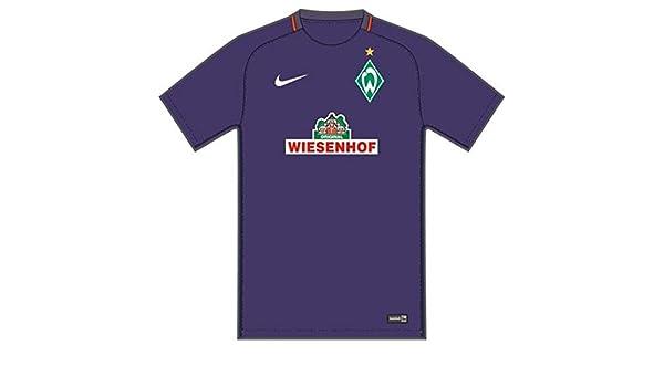 Nike Werder Bremen M Nk Dry Stad JSY SS AW Camiseta de Manga Corta, Hombre, Morado (Court Purple/Team Orange/White), 2XL: Amazon.es: Deportes y aire libre