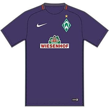 Nike Werder Bremen M Nk Dry Stad JSY SS AW Camiseta de Manga Corta, Hombre
