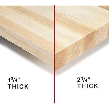 "Nexel Maple Bench Top, 72"" W x 30"" D x 1⅝"" Thick"