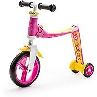 Scoot And Ride Highway Baby+ Ayarlanabilir Scooter Pembe/Sarı 216271, Çok Renkli