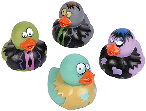 2-inch Zombie Rubber Duckies (Bulk Pack of 12 Ducks) ()