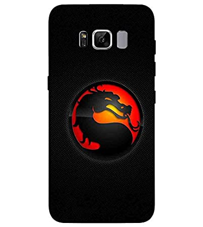 For Samsung Galaxy S8 Red Circle Printed Designer Back Amazon In Electronics