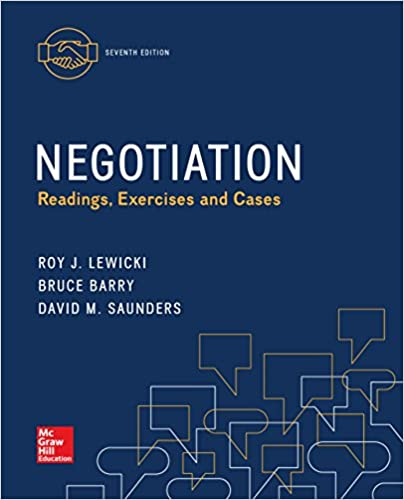 Read negotiation: readings, exercises, and cases ebook online.