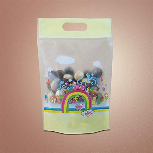 - Gift Bags & Wrapping Supplies - 50 Pcs Rainbow Pattern Nougat Candy Zipper Lock Bags Plastic Cookies Biscuit Nuts Package Bakery - Pattern Patterns PlasticMaking Book