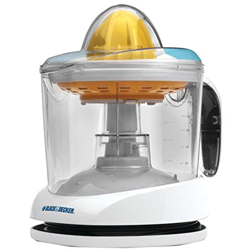 BLACKDECKER CJ625 30-Watt 34-Ounce Citrus Juicer White