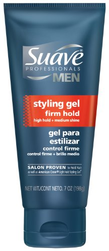 Suave Professionals Men Styling Gel, Firm Hold 7 Ounce (Pack of 4)