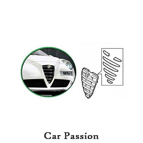 Ensemble de garnitures de calandre originales Alfa Romeo Chrom/é es 156099841