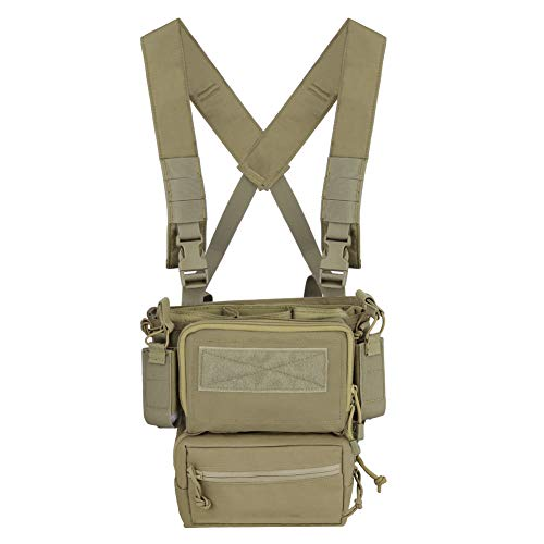 DETECH Tactical Vest Army Chest Rig Carrier Armor X Harness Rifle Pistol Magazine Pouch CRX Hunting Equipment Accessories