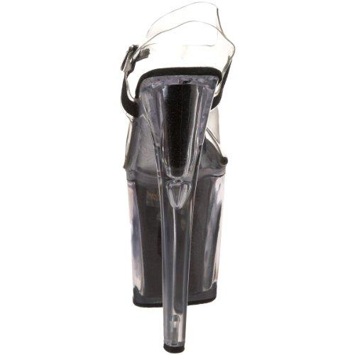 38 Pleaser Sandali stiletto Donna 5 Nero wf1ISvxq1