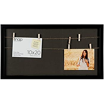 Amazon.com: Snap 10x20 Shadow Box Clip Frame, 10 inches x 20 inches ...