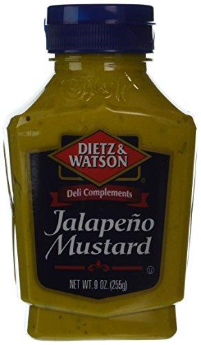 Dietz & Watson, Deli Compliments, Jalapeño Mustard, 9oz Bottle (Pack of ()