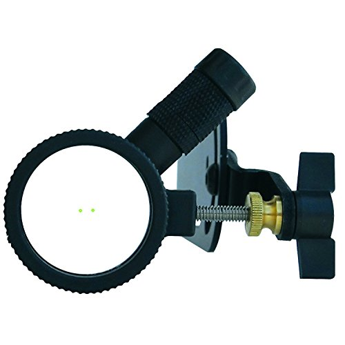 Hind Sight Center Shot Sight w/2X Lens & LED Light (Light Peep Sight)