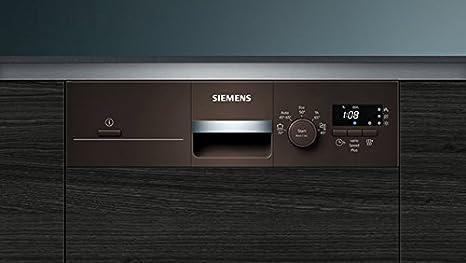 Siemens iQ100 SR515M03CE lavavajilla Semi-incorporado 9 cubiertos ...