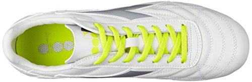 White Shoes Bianco Footbal Men Diadora Dd Giallo Fl Off M Lt Mg14 Winner Rb zFw60Rq