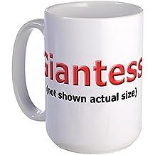 CafePress - Giantess 5 Large Mug - Coffee Mug, Large 15 oz. White Coffee Cup