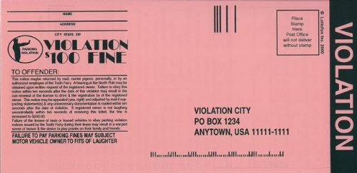 It's just a graphic of Printable Fake Parking Tickets in police