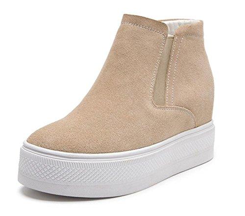los zapatos del elevador Ms Spring zapatos perezosos mujeres escoge los zapatos de fondo grueso , US5.5 / EU35 / UK3.5 / CN35