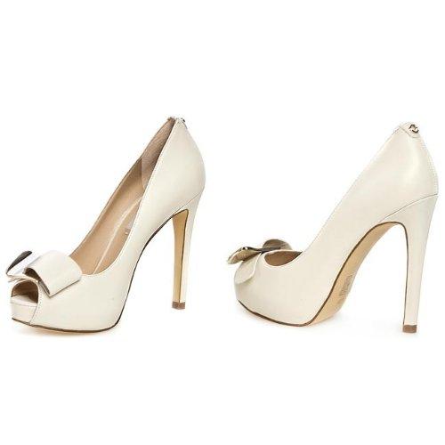 Chaussures Decolletté Femme Guess Modèle Hazel FL2HAZLEA07 Colonel Ivoire