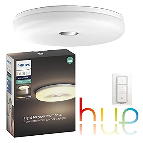 Philips hue White Ambiance Struana - - lámpara de techo LED ...