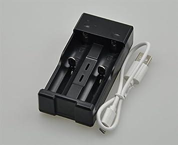 Bateríay Cargador para 18650 batería recargable de Li-ion ...
