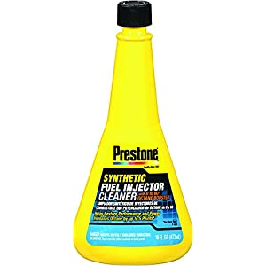 Prestone AS731 Synthethic Fuel Injector Cleaner with 0-60 Booster - 16 oz.