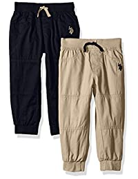 U.S. Polo Assn.. - Pantalones de Forro Polar para niño (2 Unidades)