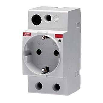 ABB M1175 Tipo F Gris caja de tomacorriente - Caja registradora (45 mm, 85 mm, 70 mm, 115 g): Amazon.es: Industria, empresas y ciencia