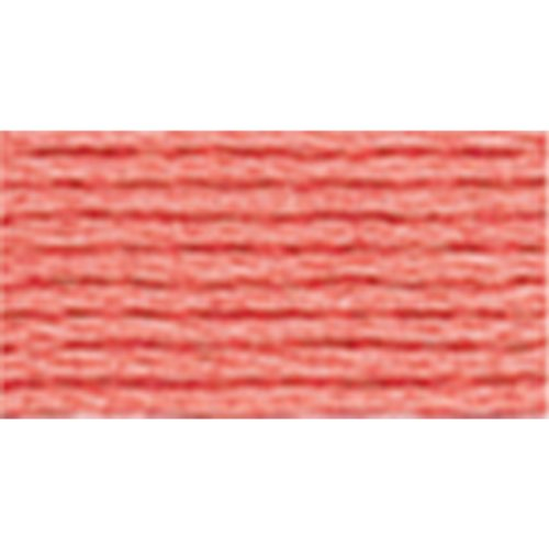 Dmc 117 352 Mouline Stranded Cotton Six Strand Embroidery Floss Thread  Light Coral  8 7 Yard