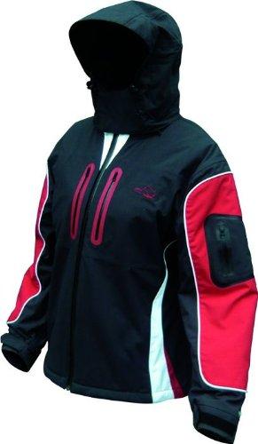 Swan Jacket Size L Black / Red Woman