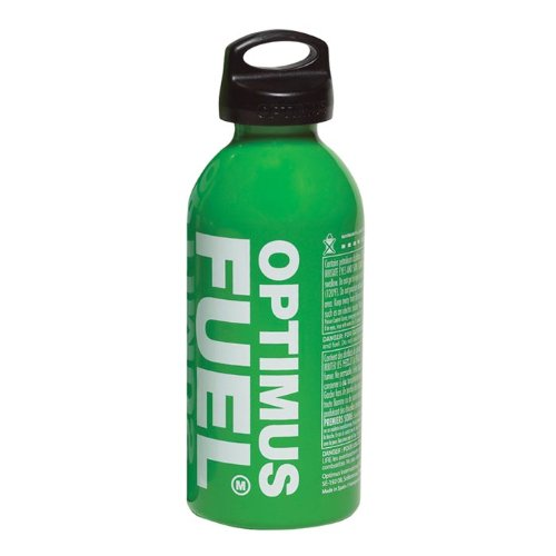 Optimus Fuel Bottle with Child-Safe Cap 0.6l Capacity/450ml When Used with Stove Pump Assembly, Green by Optimus
