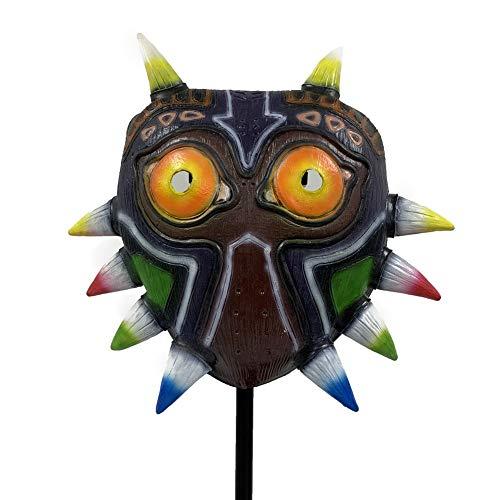 Majora's Mask Colorful Zelda Mask Halloween Cosplay Accessory Prop Latex Mask