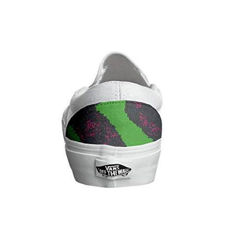 Unisex - Adulto Make Your Shoes vans con stampa artigianale personalizzata prodotto beatles tg