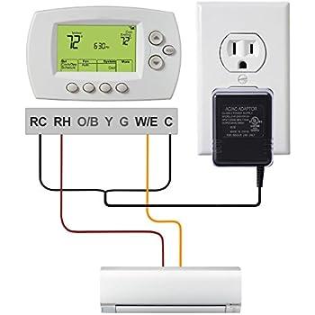 ac24v c wire power adapter lammu 24v power. Black Bedroom Furniture Sets. Home Design Ideas